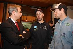 Pedro P. Silva with Helder Rodrigues and Ruben Faria