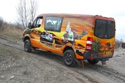 Team Fleetboard Dakar: Mercedes Sprinter
