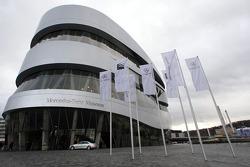 The Mercedes-Benz Museum in Stuttgart