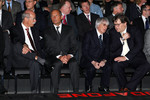 Dr. Dieter Zetsche, Chairman of Daimler, Ron Dennis, Bernie Ecclestone and Norbert Haug