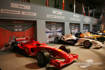 Pit lane display, In 2007 constructors order