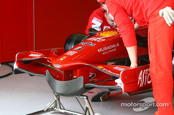 Frontwing of Scuderia Ferrari, F2008