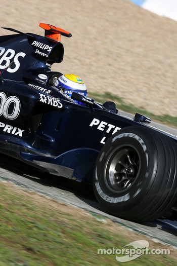 Nico Rosberg, WilliamsF1 Team, FW29 Concept car