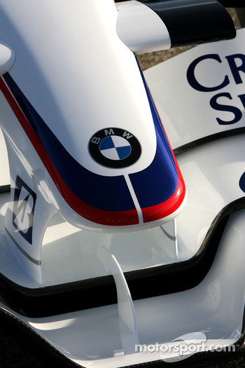 New BMW Sauber F1.08 nose detail
