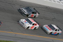 Patrick Carpentier, Dale Earnhardt Jr. and David Ragan