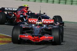 Pedro de la Rosa, Test Driver, McLaren Mercedes, MP4-23, Sebastian Vettel, Scuderia Toro Rosso