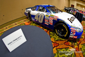 Chip Ganassi Racing with Felix Sabates: Dodge NASCAR Sprint Cup car of Dario Franchitti