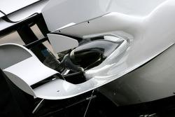 Honda Racing F1 Team, RA108 body work detail