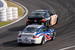 #28 Fall-Line Motorsports BMW M3 Coupe: Mark Boden, Steve Jenkins, #21 Motorsport Technologies Porsche 997: Andrew Davis, Tom Milner