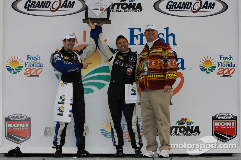 ST podium: class winners Glenn Bocchino and Nick Wittmer