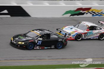 #21 Matt Connolly Motorsports Pontiac GTO.R: Diego Alessi, Matt Connolly, Karl Reindler, Keith Rossberg, #80 Synergy Racing Porsche GT3 Cup: Lance Arnold, Damien Faulkner, Mark Greenberg, Jan Heylen