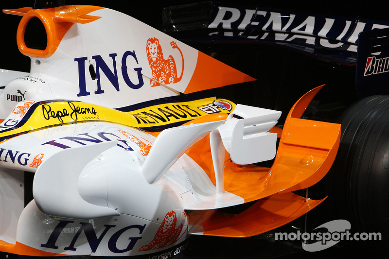 Detail of the the Renault F1 R28