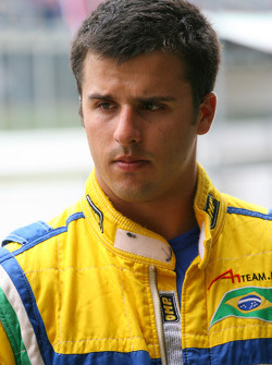 Clemente de Faria Jr., driver of A1 Team Brazil