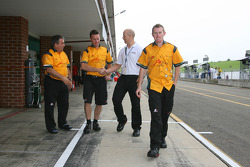 John Martin, driver of A1 Team Australia and MBT Trainers