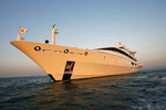 The yacht, Indian Empress