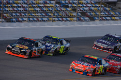 Jeff Gordon, Martin Truex Jr. and Jimmie Johnson