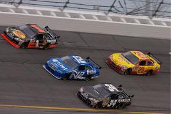 Martin Truex Jr., Ryan Newman, John Andretti and Kevin Harvick