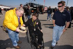 Scott Riggs with Bootie Barker