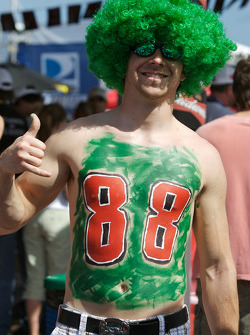 A Dale Earnhardt Jr. fan