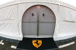 Scuderia Ferrari hospitality