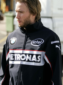 Nick Heidfeld, BMW Sauber F1 Team, Pitlane, Box, Garage