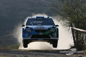 Matthew Wilson and Scott Martin, Stobart VK M-Sport Ford World Rally Team, Ford Focus RS WRC 2007