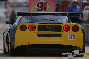 LG Motorsports Chevrolet Riley Corvette C6 heads to track