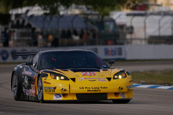 #28 LG Motorsports Chevrolet Riley Corvette C6: Lou Gigliotti, Doug Peterson, Marc Goossens