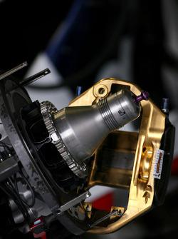 BMW F1.08 brake system