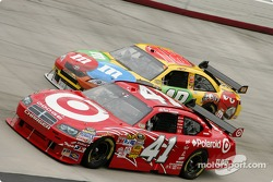 Reed Sorensen and Kyle Busch