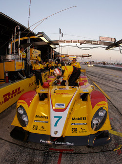 #7 Penske Racing, Porsche RS Spyder: Romain Dumas, Timo Bernhard, Emmanuel Collard