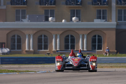 #2 Audi Sport North America Audi R10 TDI: Lucas Luhr, Mike Rockenfeller, Marco Werner