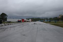 Rain on Sebring
