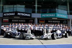 BMW Sauber F1 photoshoot