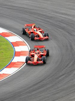 Kimi Raikkonen, Felipe Massa (Scuderia Ferrari Marlboro)