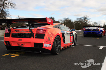 Starting grid: Tech 9 Lamborghini Gallardo