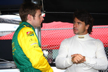 Will Power and Oriol Servia