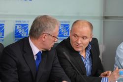 Vyacheslav Fetisov and Alexander Nifontov