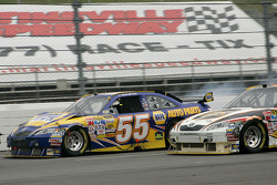 Michael Waltrip suffers damage
