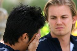 Nico Rosberg, Williams F1 Team, Kazuki Nakajima, Williams F1 Team