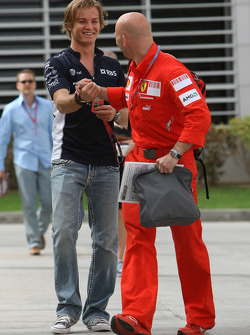 Mark Arnell, Personal trainer to Kimi Raikkonen and Nico Rosberg, WilliamsF1 Team