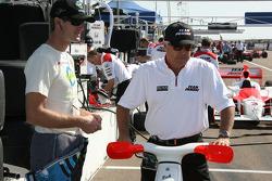 Ryan Hunter-Reay and Roger Penske