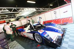Charouz Racing System pit box