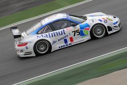 #75 IMSA Performance Matmut Porsche 997 GT3 RSR: Michel Lecourt, Richard Balandras, Jean-Philippe Belloc