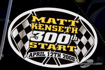 Matt Kenseth will make his 300th career start at Phoenix International Raceway