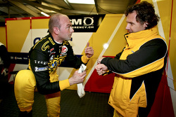 Fabrizio Gollin and Mike Hezemans