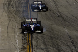 Paul Tracy locks up the brakes and misses Turn 1