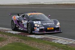 #44 Gravity Racing International Ascari KZ1 GT3: Michael Greenhalgh, Stéphane Lemeret