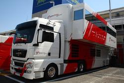 Toyota Racing, truck