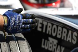Kazuki Nakajima, Williams F1 Team, mechanic